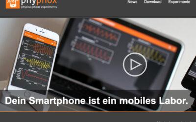 PHYPHOX Das Smartphone als mobiles Labor