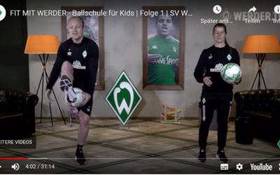 FIT MIT WERDER – Ballschule für Kids
